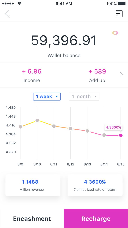 Wallet Finance app, Finance, App