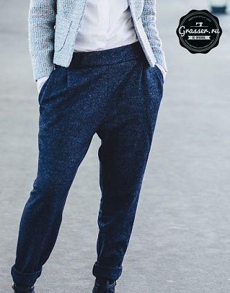 Мастер-класс №4. Пошив брюк по выкройке №70