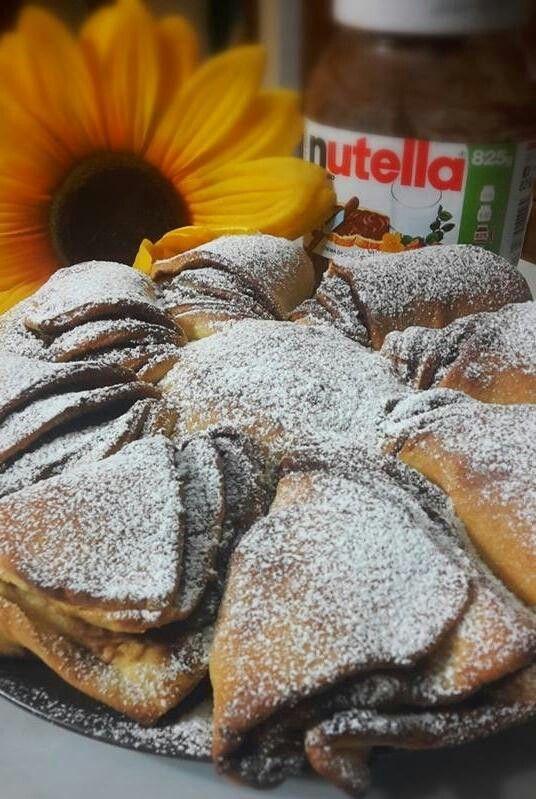 Pan brioche Girasole a Nutella http://www.seiunochef.it/sucy/seiunochef/Recipe/442