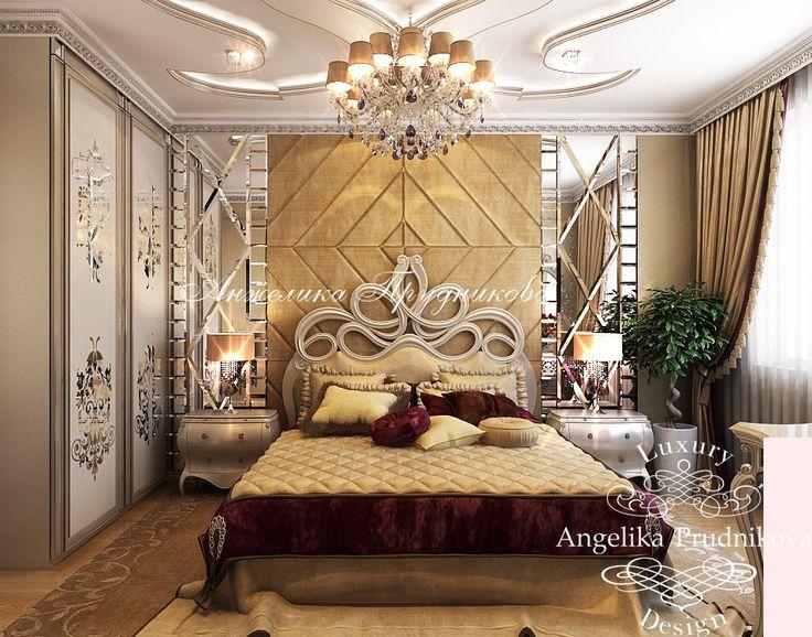 Интерьер гостевой спальни - Дизайн пентхауса