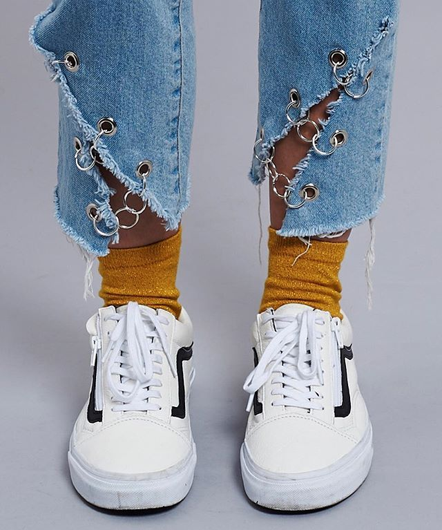 Let's hook up in the Link Jean ⛓ New in this week for Spring 17 #theraggedpriest