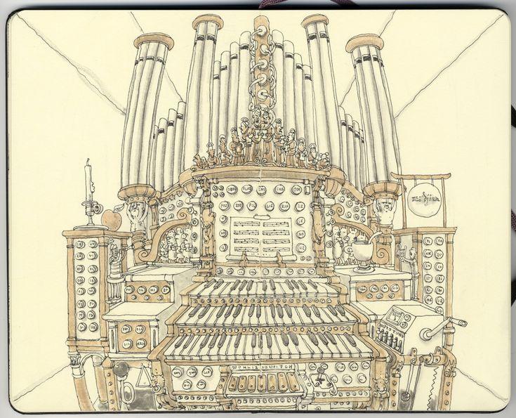 Organ by *MattiasA on deviantART