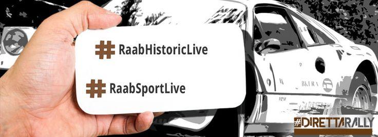 RAAB Historic 2016: commentalo anche tu con noi - #DirettaRally, #DirettaRallyLive, #DR, #DRLive, #RaabHistoric2016, #RaabHistoricLive, #RaabSportLive - http://www.direttarally.it/2016/07/27/raab-historic-2016-commentalo-anche-tu/ - www.direttarally.it