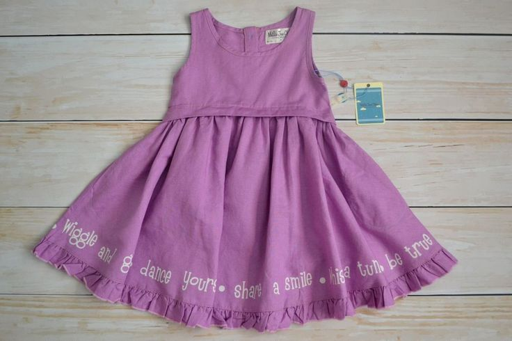 NWT MATILDA JANE HEMINGWAY LAVENDER DRESS GIRLS SIZE 2 #MatildaJane #DressyEveryday