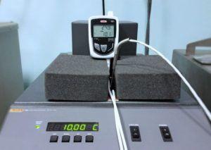 Taratura Strumento Multifunzione + Sonda in campo Temperatura