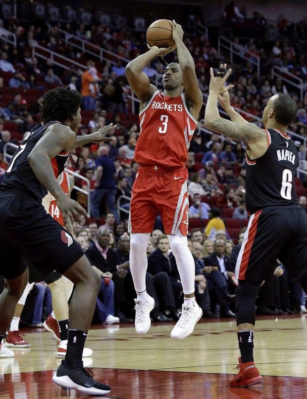 Chris Paul Leads Houston Rockets Past Portland Trail Blazers 121 112 Rapid Reaction Oregonlive Com Nba Resumen Estadistica