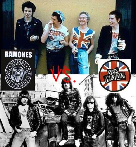Ramones Sex Pistols 6