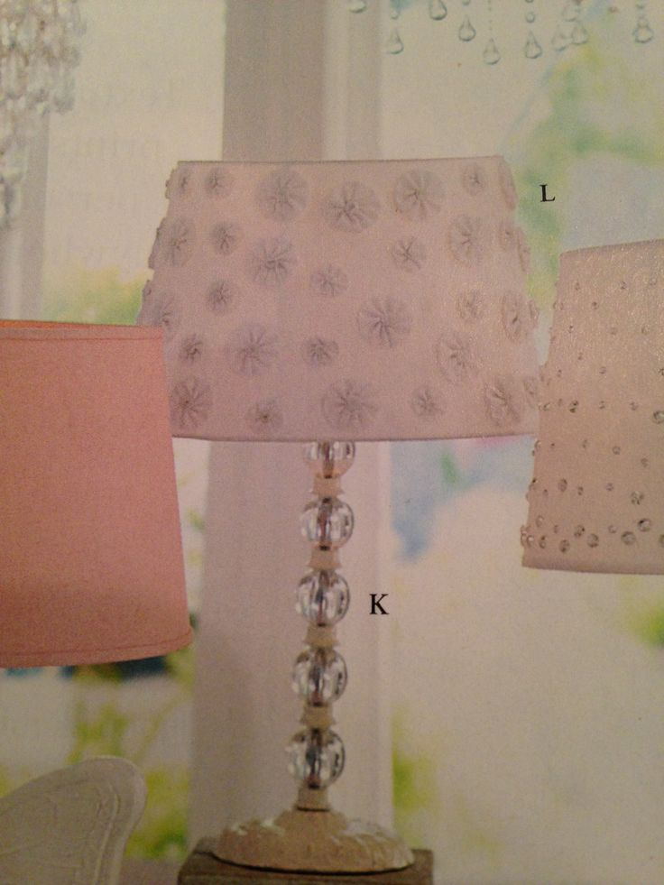 The 25 best pottery barn lamp shades ideas on pinterest silk pottery barn kids lamp shade with fabric yoyos aloadofball Image collections