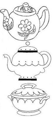 Xícaras de chá by *♥Help Idéi@s♥*, via Flickr