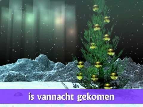 Kerstliedje voor kleuters: Midden in de winternacht