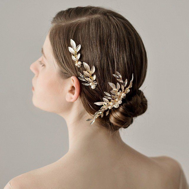 ヘッドドレス 髪飾り コーム かんざし ウエディング ブライダル ヘア