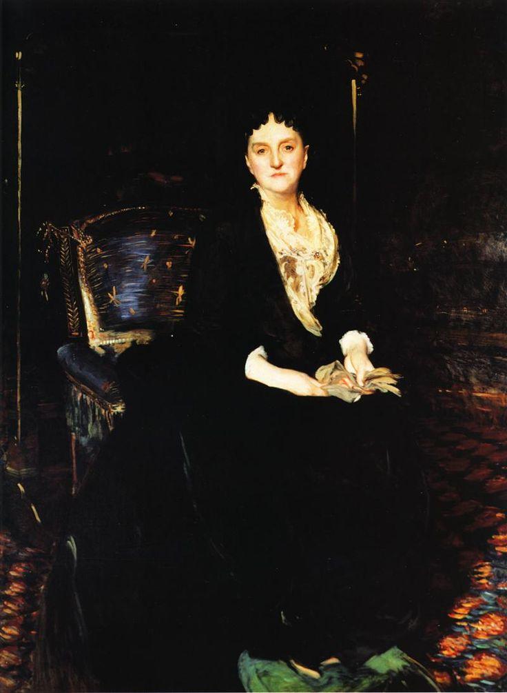 Mrs. William Henry Vanderbilt - John Singer Sargent