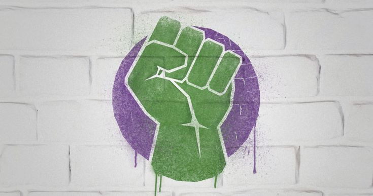 hulk+fist+simple | Smash! by quick-brown-fox on Threadless