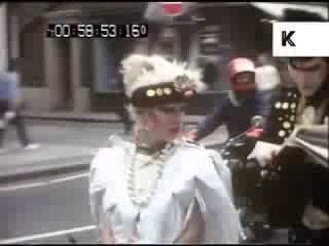 Early 1980s New Romantics Street Style, Chelsea, London - Subculture, Ho...