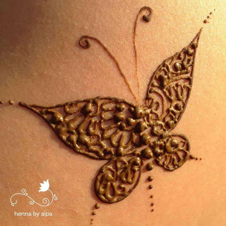 Henna Tattoo Butterfly: Best 25+ Henna Butterfly Ideas On Pinterest