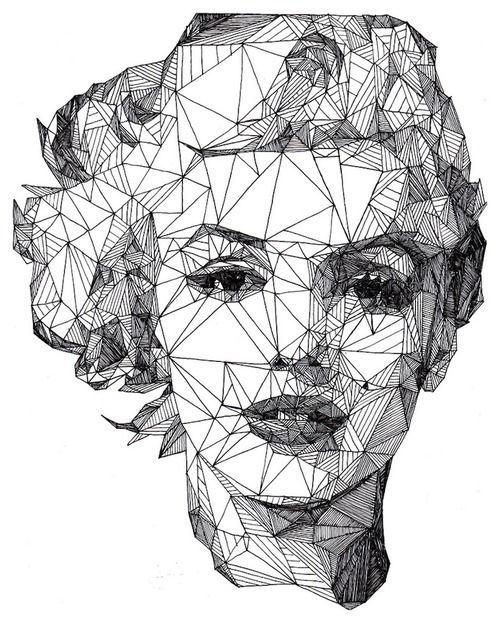 Josh Bryan IllustrationsJosh Bryans, Marilyn Monroe, Illustration, Art, Marilynmonroe, Graphics, Portraits,  Radios Reflector, Radios Telescope