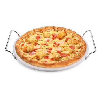Pizzastein Ø 25,4cm Cordierit