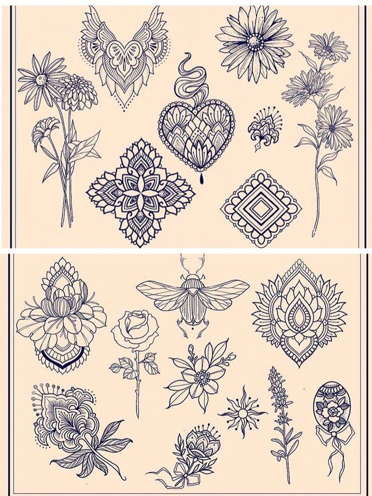 Flower mandala beatle tattoo                                                                                                                                                      More