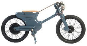 ホンダカブ C90 を改造して作られた電動バイク  欲しい!