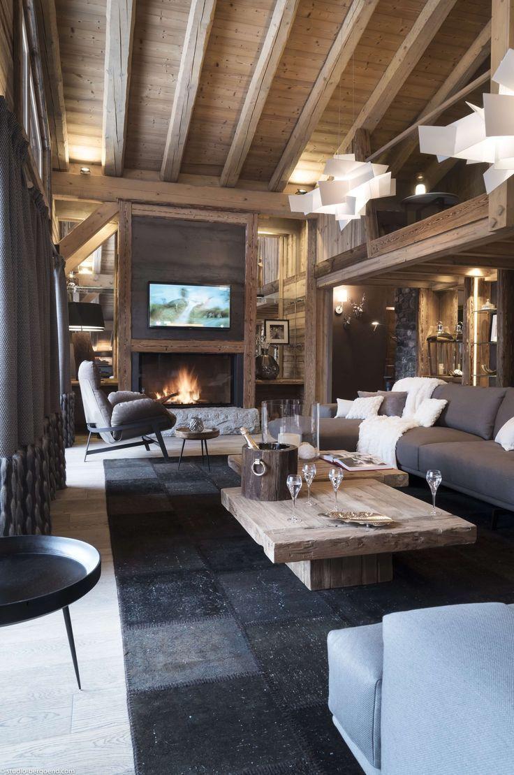 Idee Couleurs Et Materiaux Hollandgreen Interiors Blog All American Interio In 2020 Rustikales Haus Kabinenausstattung Haus Design
