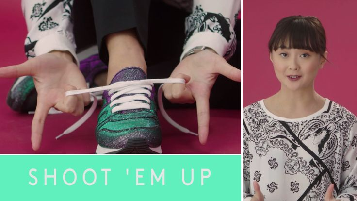 How to tie your shoes without the bunny ears