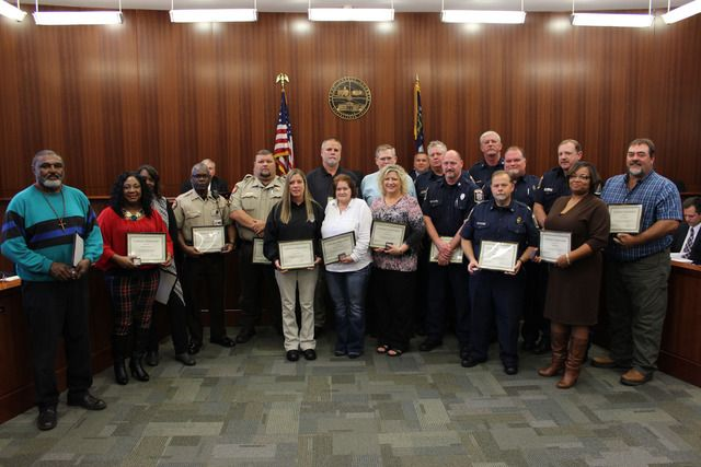 Troup County honors employees' years of service - LaGrange Daily News - lagrangenews.com