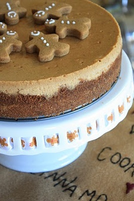 Gingerbread Cheesecake and lots of other holiday treats!