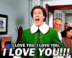 Perhaps my favorite part of Elf...although it's hard to pick just one favorite!!