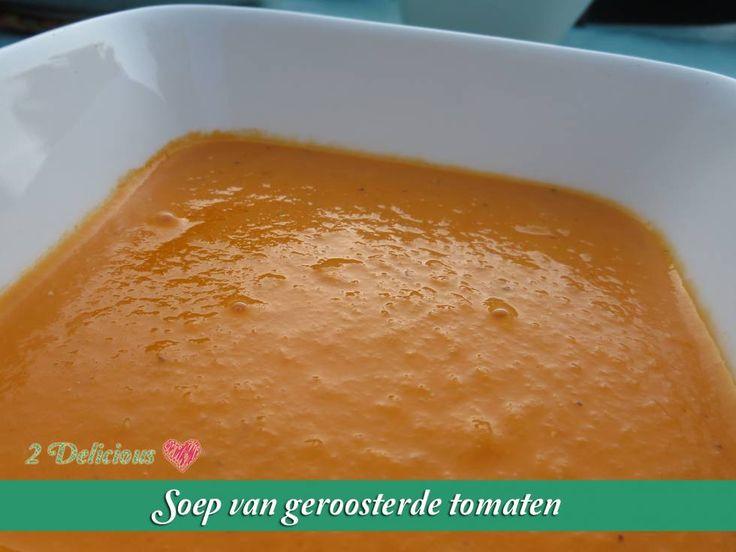 Soep Van Geroosterde Tomaten recept | Smulweb.nl