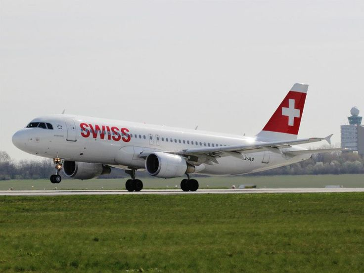 Budapest | SWISS Airbus taking off. credit: Budapest Airport. see on Fb https://www.facebook.com/BudapestPocketGuide  #Budapest #travel #Travel2Budapest