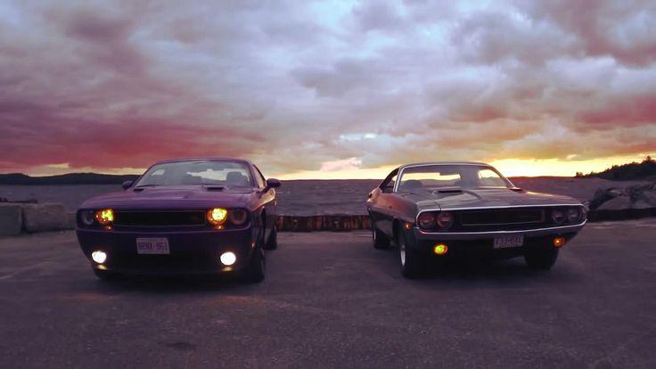 Dodge Challenger R T Classic Vs Modern Mopar Pinterest