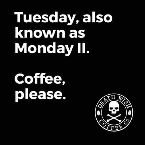 Also Thursday, aka the fourth day of the hostage situation. Extra coffee needed.