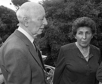 Giancarlo Pajetta e Miriam Mafai