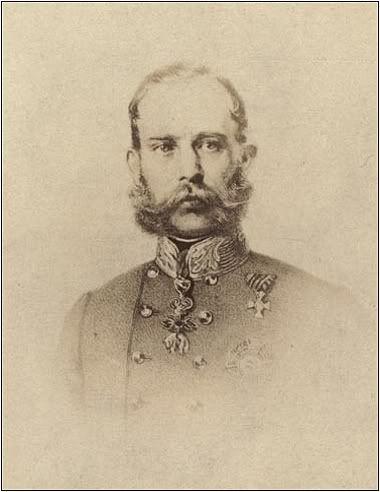 Emperor Franz Josef of Austria.