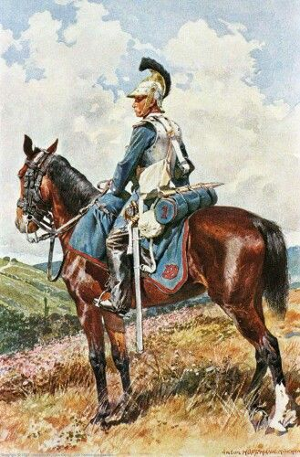 1st Cuirassier Regiment 1870 Bavaria