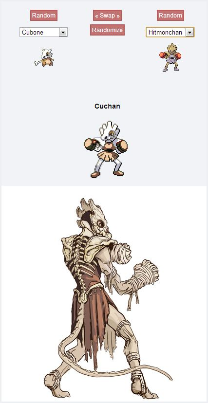 Cuchan | 43 Pokemon Mash-Ups That Are Better Than The Real Thing