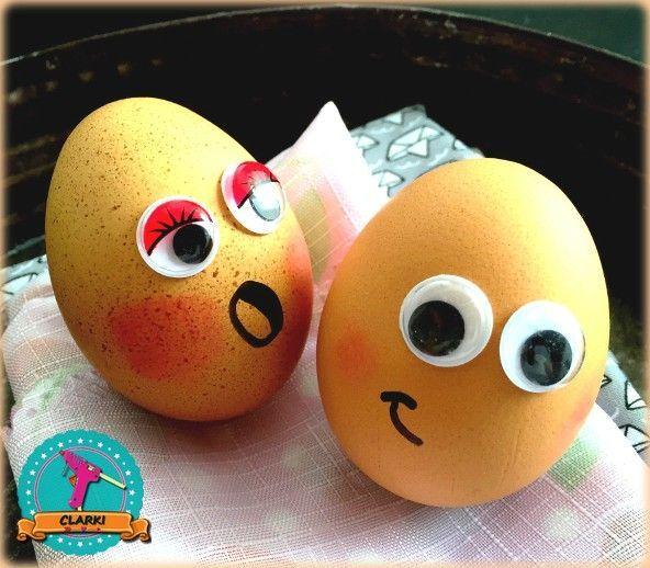 Food DIY: Eier mit Wackelaugen ganz einfach selber machen – #DIY #Eier #einfach …