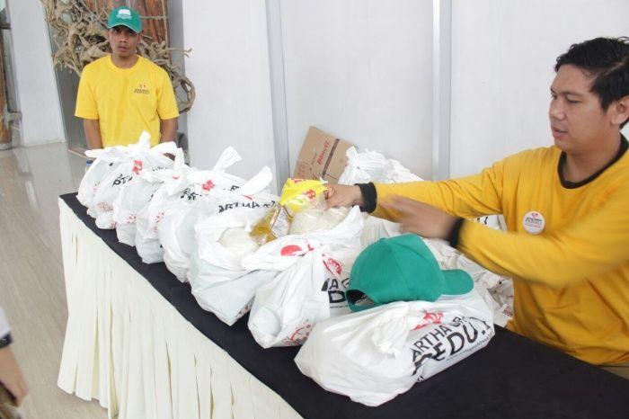 Artha Graha Peduli Gandeng Inkoppol Gelar Bazar Murah