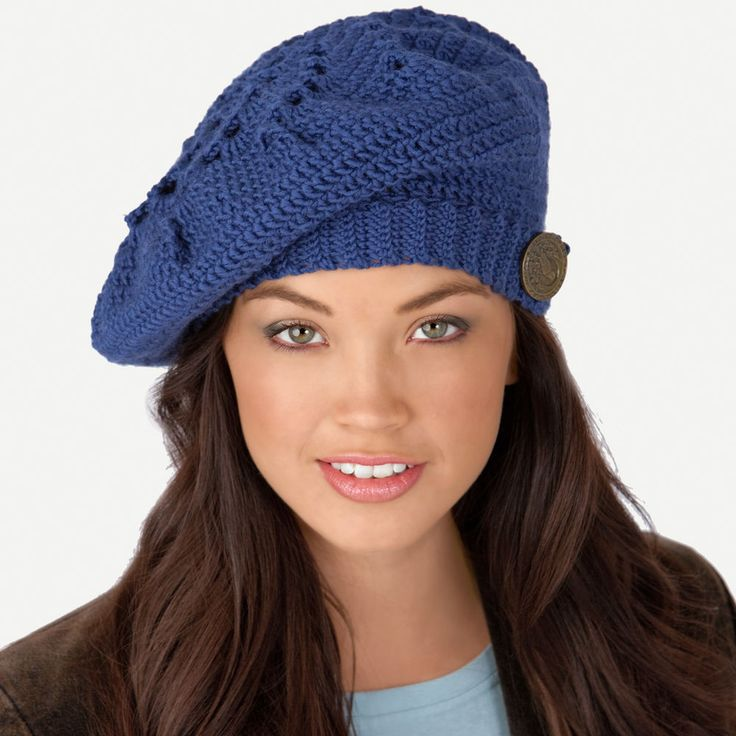 The swirling pattern will keep you entertained as you crochet this stylish…