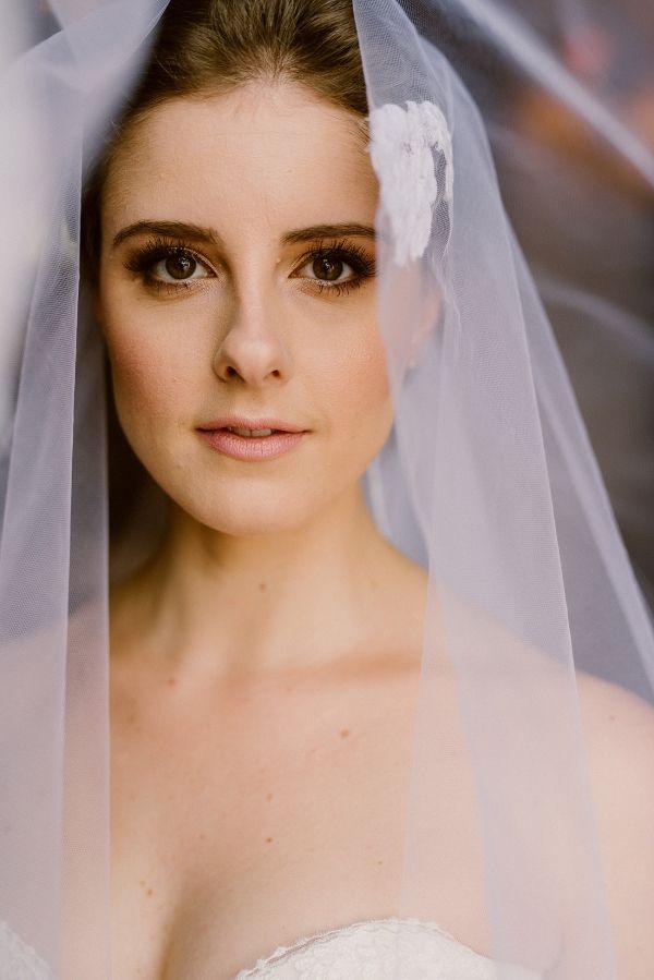 Bride in Heirloom Veil | Lad & Lass Photography