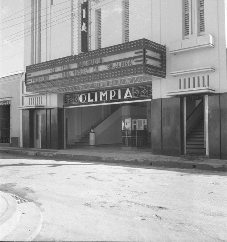 Galeria Dominican Republic: Cine Olimpia , Calle Palo Hincado,Inaugurado En El Año