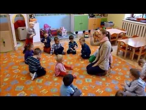 """Zabawa """"rakieta"""" - Przedszkole Bajlandia w Cieszynie - YouTube"""