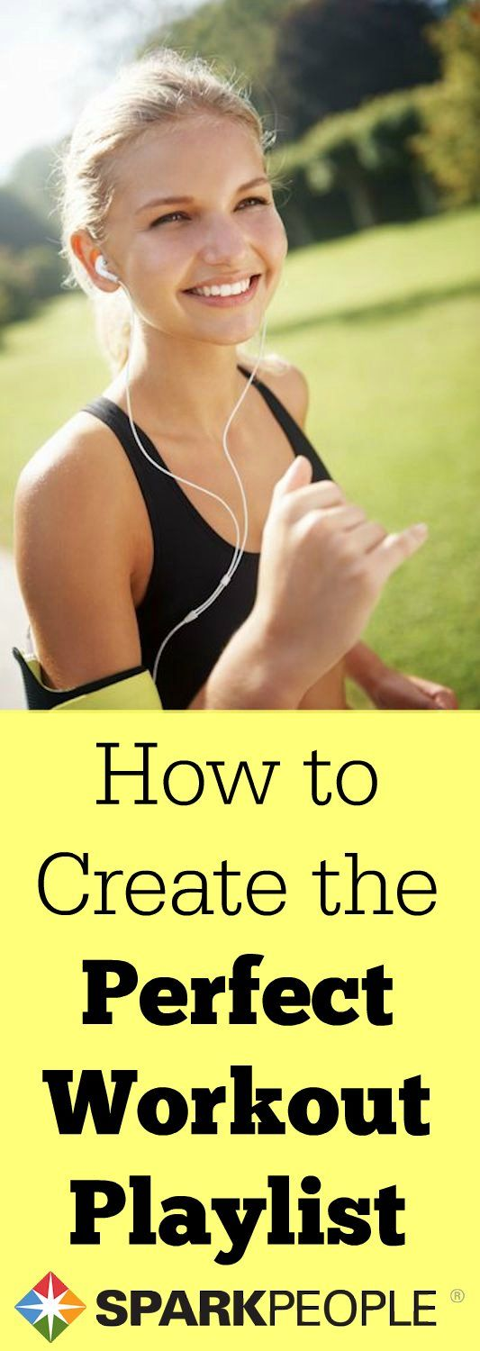 How to Create the Perfect Workout Playlist   via @SparkPeople #workout #fitness #playlist #workoutplaylist
