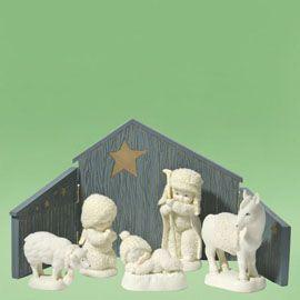 Babies in Bethleham-Department 56 Snowbabies