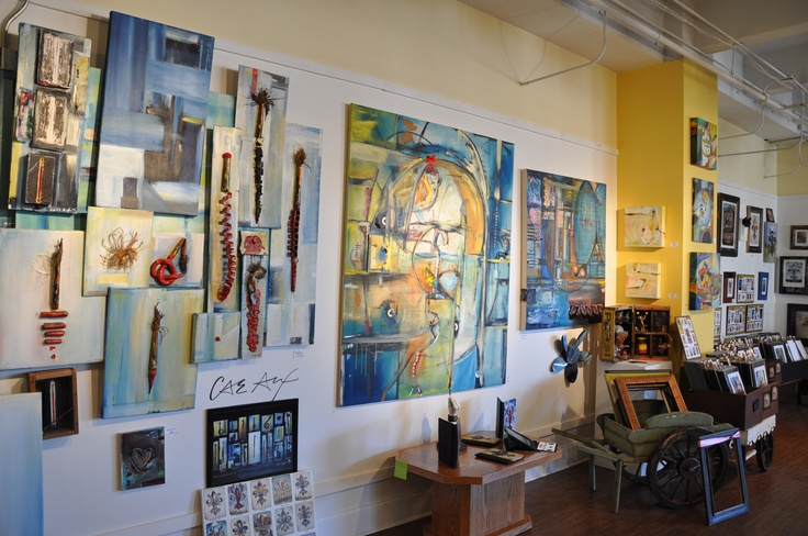The Candice Alexander Art Studio in Downtown Lake Charles