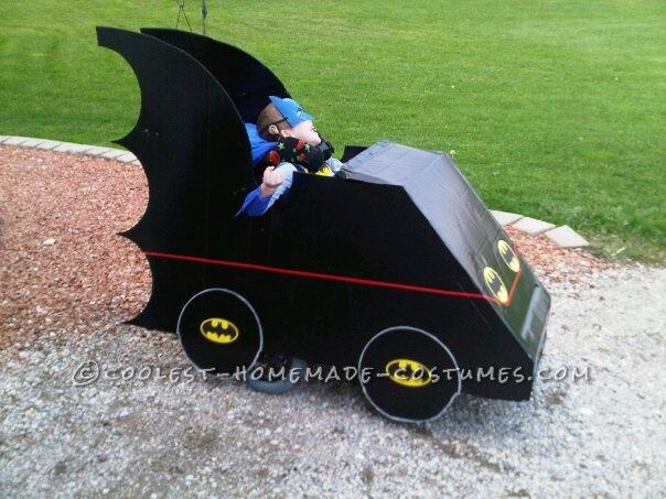 Awesome Batmobile Wheelchair Costume!... This website is the Pinterest of costumes