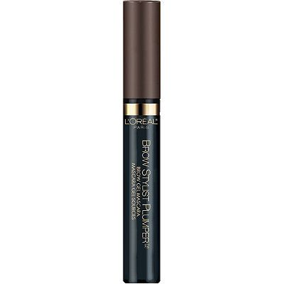 L'Oréal Brow Gel Mascara  - quick and easy one step application for brow challenged people like myself. Tinted brow gel that doesn't dry crunchy, small wand applicator for precise application, buildable color, good for brows that need just a little bit of filling in or to set filled in sparse brows. ~$9 so about half the price of the Benefit Gimme Brow and Anastasia Brow Gel