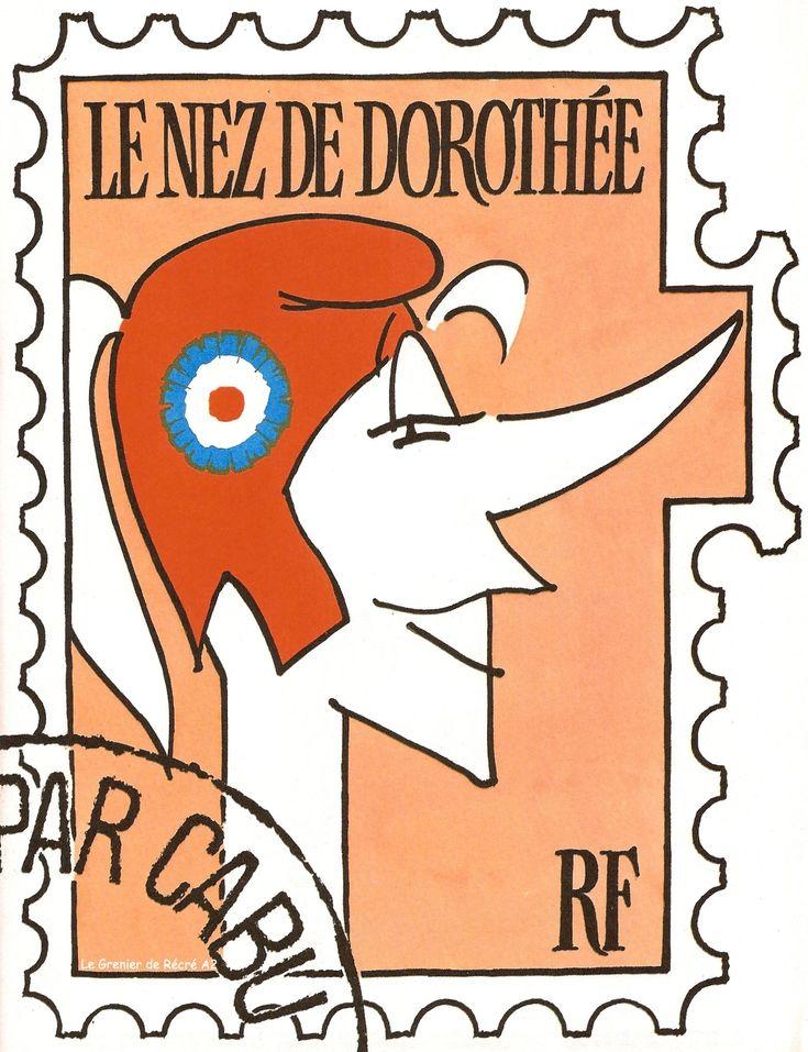 Dorothée en Marianne par #Cabu #RIP