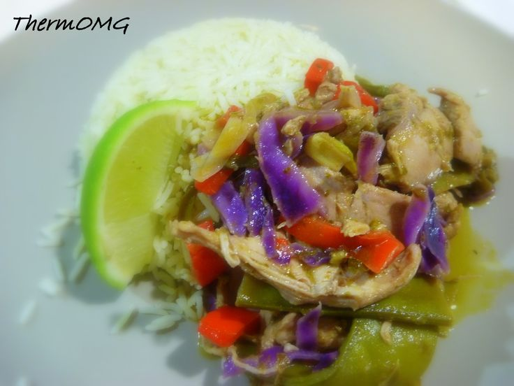 Basil and Lime Chicken - ThermOMG | Thermomix Chicken | Pinterest