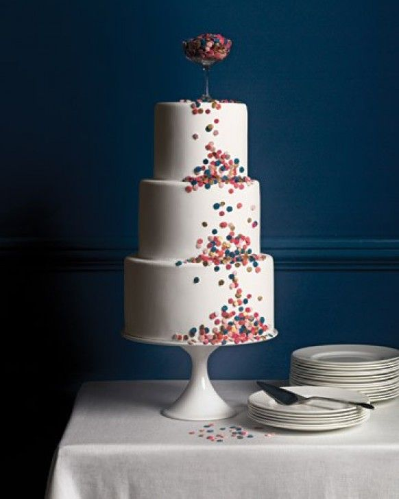Confetto Ffertig: Special Fondant Wedding Cakes ♥ Yummy Wedding Cake